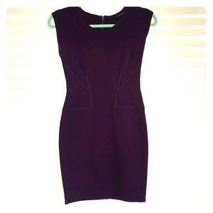 French Connection Purple Bandage Mini Dress Size 6
